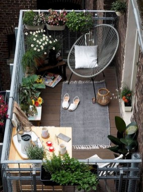 Decoration Of Balconies In Apartments That Inspire People39