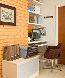 Diy Awesome Home Office Organizing Ideas02