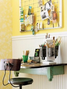 Diy Awesome Home Office Organizing Ideas41