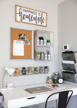 Diy Awesome Home Office Organizing Ideas48