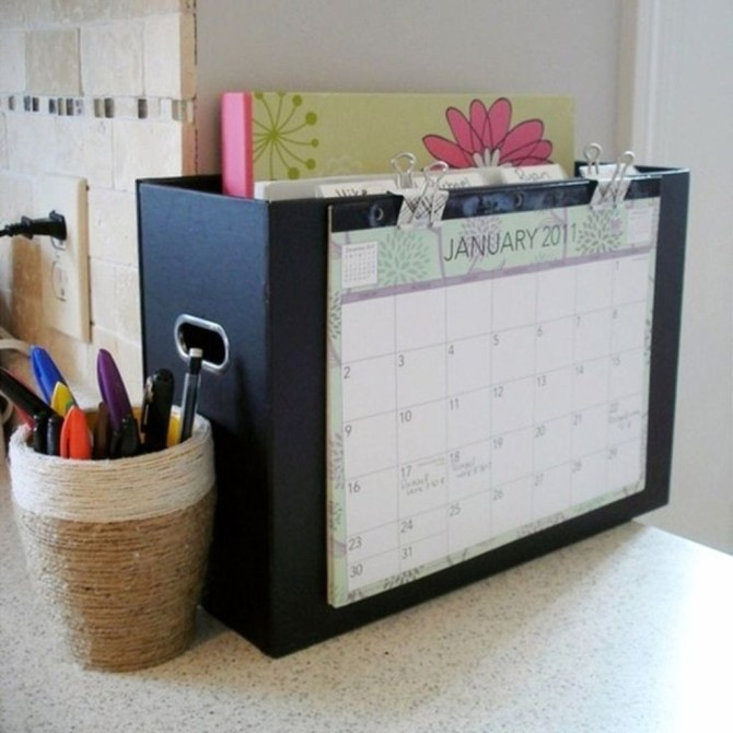 Diy Awesome Home Office Organizing Ideas49