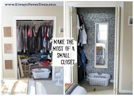 Diy Fabulous Closet Organizing Ideas Projects43