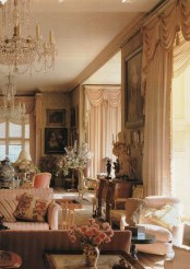 Extraordinary French Country Living Room Decor Ideas14