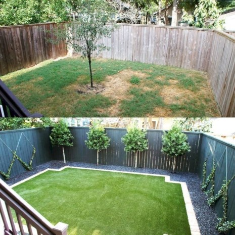 Gorgeous Small Backyard Landscaping Ideas41