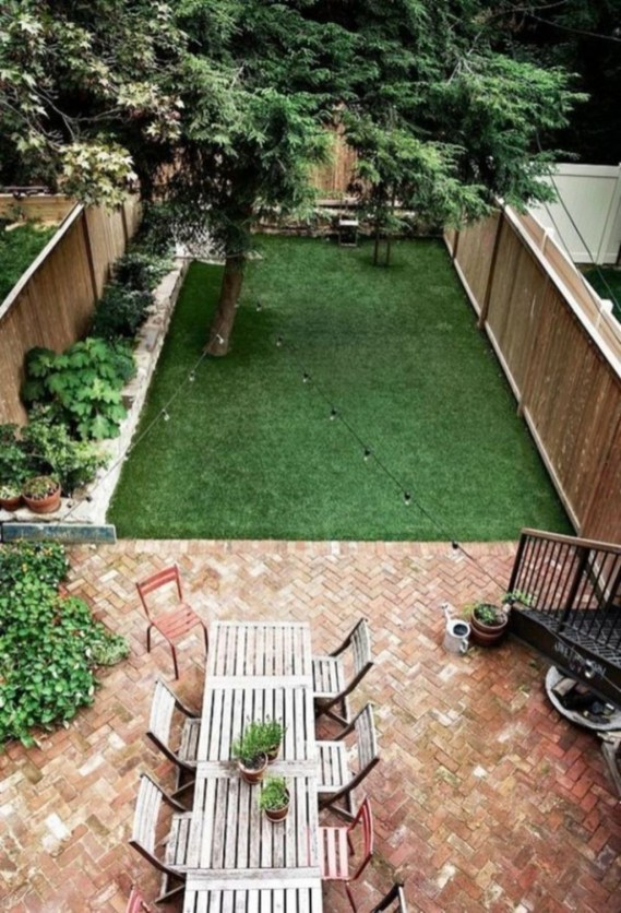 Gorgeous Small Backyard Landscaping Ideas44