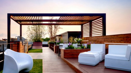 Roof Terrace Decorating Ideas That You Should Try35