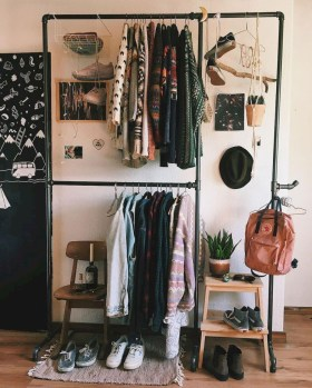 The Best Small Wardrobe Ideas For Your Apartment26