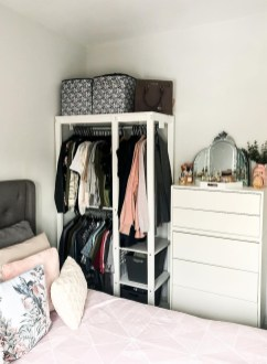 The Best Small Wardrobe Ideas For Your Apartment35