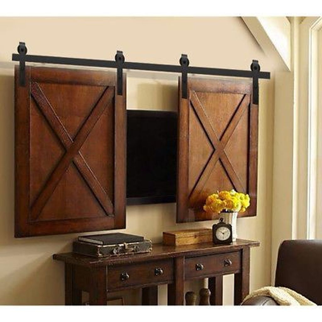 Top Fantastic Way To Hide Your Tv Diy Projects19