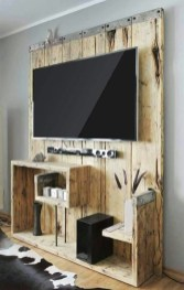 Top Fantastic Way To Hide Your Tv Diy Projects25