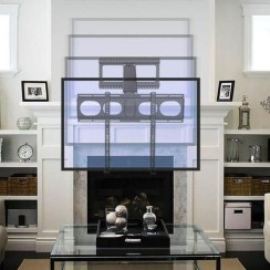 Top Fantastic Way To Hide Your Tv Diy Projects35
