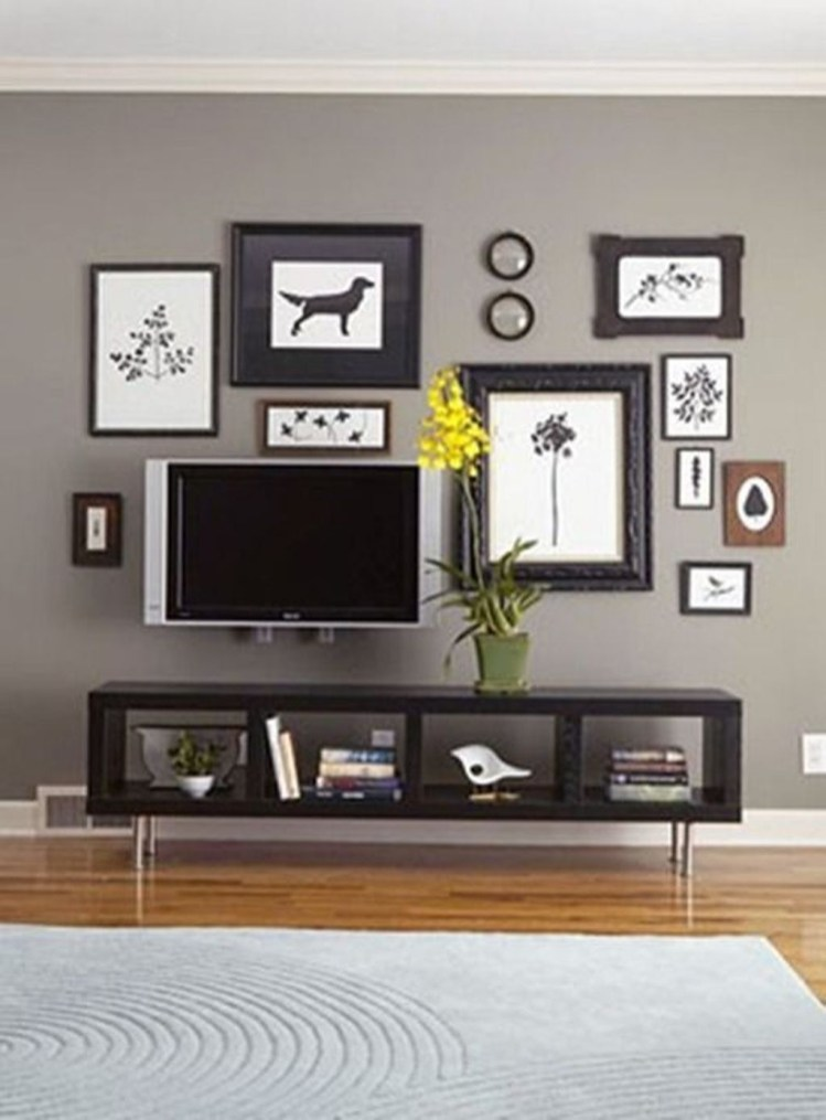 Top Fantastic Way To Hide Your Tv Diy Projects37