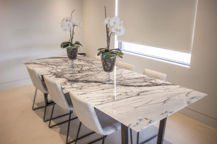 Awesome Granite Table For Dinning Room09