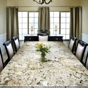 Awesome Granite Table For Dinning Room13