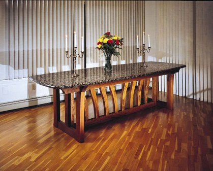 Awesome Granite Table For Dinning Room22