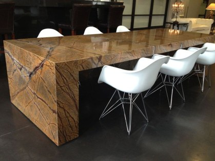 Awesome Granite Table For Dinning Room23