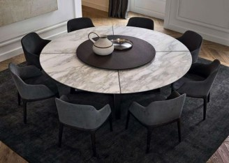 Awesome Granite Table For Dinning Room29