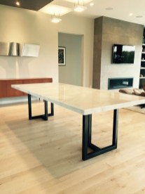Awesome Granite Table For Dinning Room40