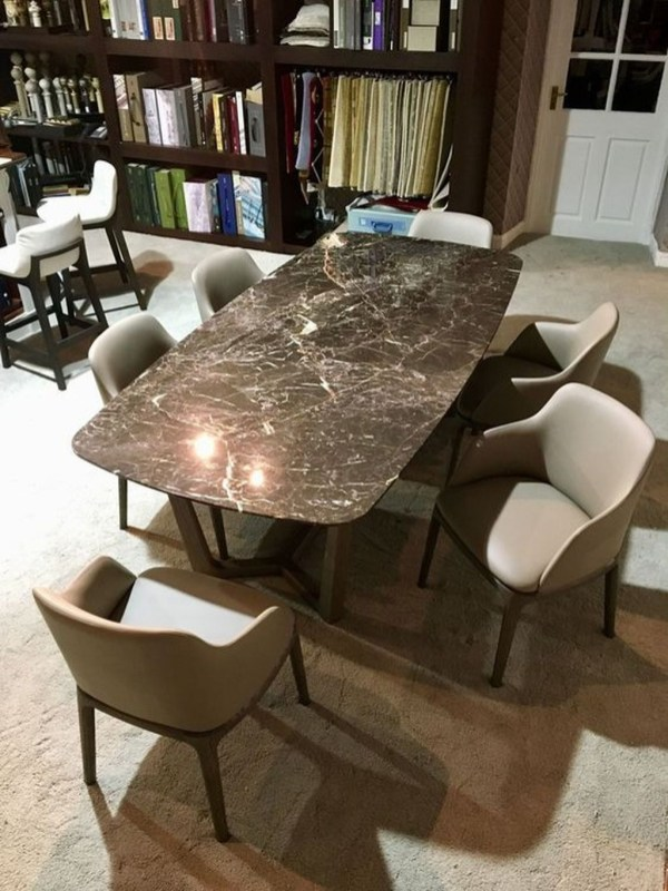 Awesome Granite Table For Dinning Room46