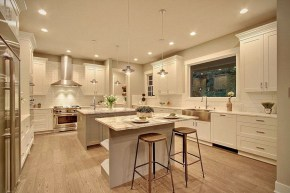 Best Double Kitchen Design Ideas For Cooking Easier03