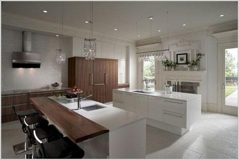 Best Double Kitchen Design Ideas For Cooking Easier40