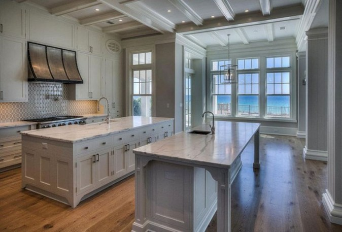 Best Double Kitchen Design Ideas For Cooking Easier48