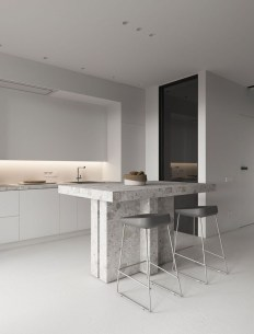Good Minimalist Kitchen Designs13