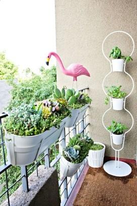 Gorgeous Flower On Balcony Ideas34