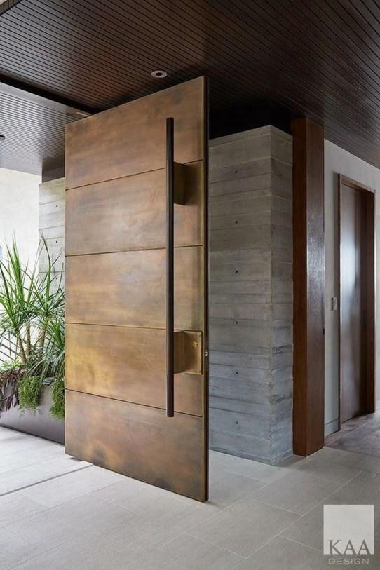 Gorgeous Wooden Door Ideas46