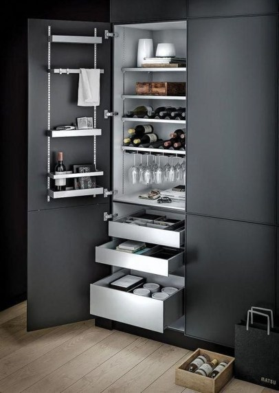 Lovely Aluminium Kitchen Decoration20