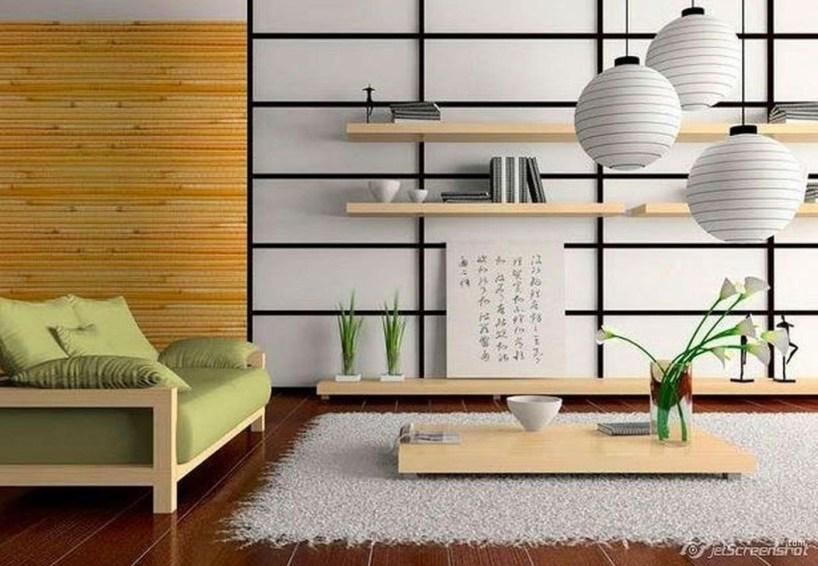 Modern Japanese Living Room Decor01