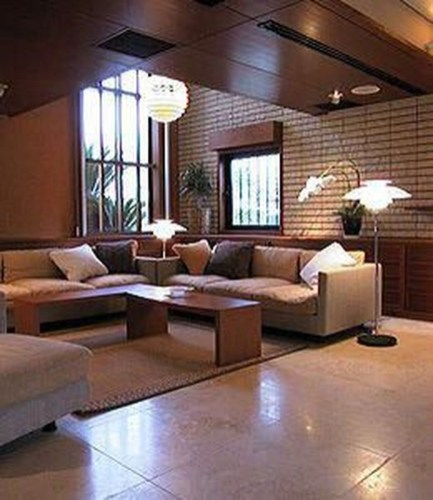 Modern Japanese Living Room Decor13