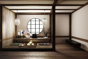 Modern Japanese Living Room Decor15
