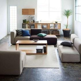 Modern Japanese Living Room Decor22