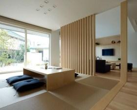 Modern Japanese Living Room Decor26