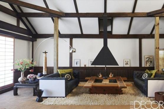 Modern Japanese Living Room Decor29