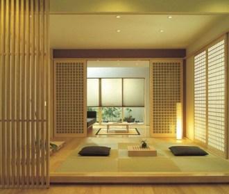 Modern Japanese Living Room Decor33