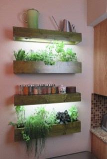 Simple Indoor Herb Garden Ideas For More Healthy Home Air05