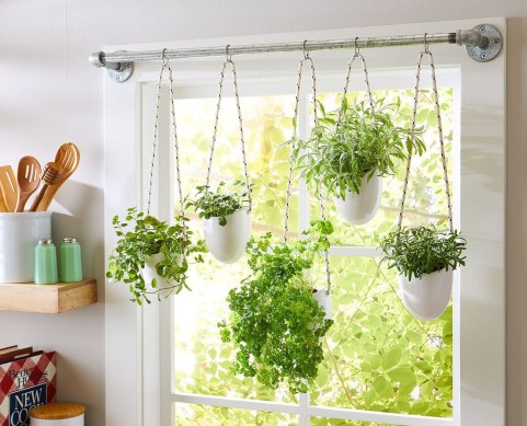 Simple Indoor Herb Garden Ideas For More Healthy Home Air08