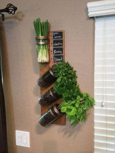 Simple Indoor Herb Garden Ideas For More Healthy Home Air11