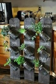 Simple Indoor Herb Garden Ideas For More Healthy Home Air29