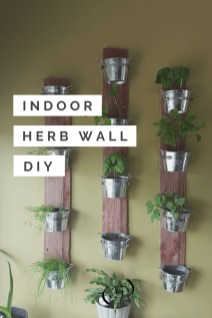 Simple Indoor Herb Garden Ideas For More Healthy Home Air43