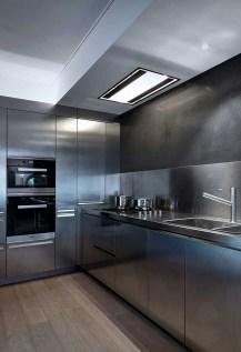 Simple Metal Kitchen Design04
