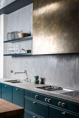 Simple Metal Kitchen Design17