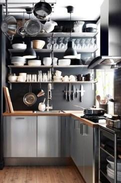 Simple Metal Kitchen Design32