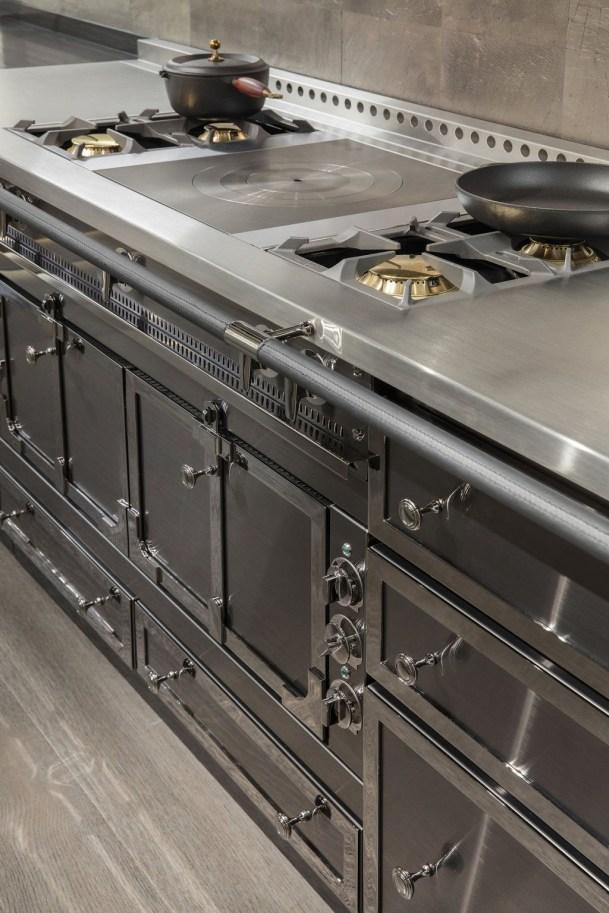 Simple Metal Kitchen Design46