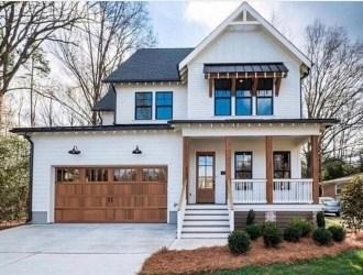 Top Modern Farmhouse Exterior Design Ideas16