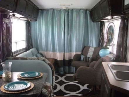 Amazing Rv Decorating Ideas For Your Enjoyable Trip32