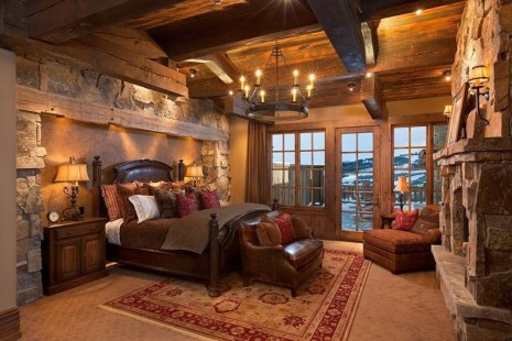 Awesome Diy Rustic And Romantic Master Bedroom Ideas19