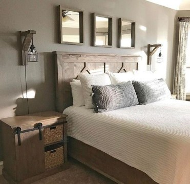 Awesome Diy Rustic And Romantic Master Bedroom Ideas25